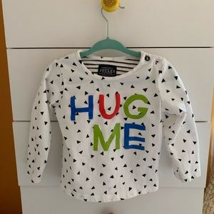 Other - Joules Hug Me top 12-18m